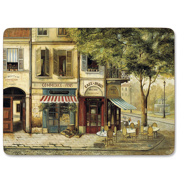 Pimpernel tischsets parisian scenes 4 stk 009040 - Set de table rigide ...