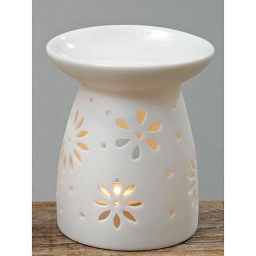 duftst vchen aromalampe duftlampe keramik wei 016352. Black Bedroom Furniture Sets. Home Design Ideas