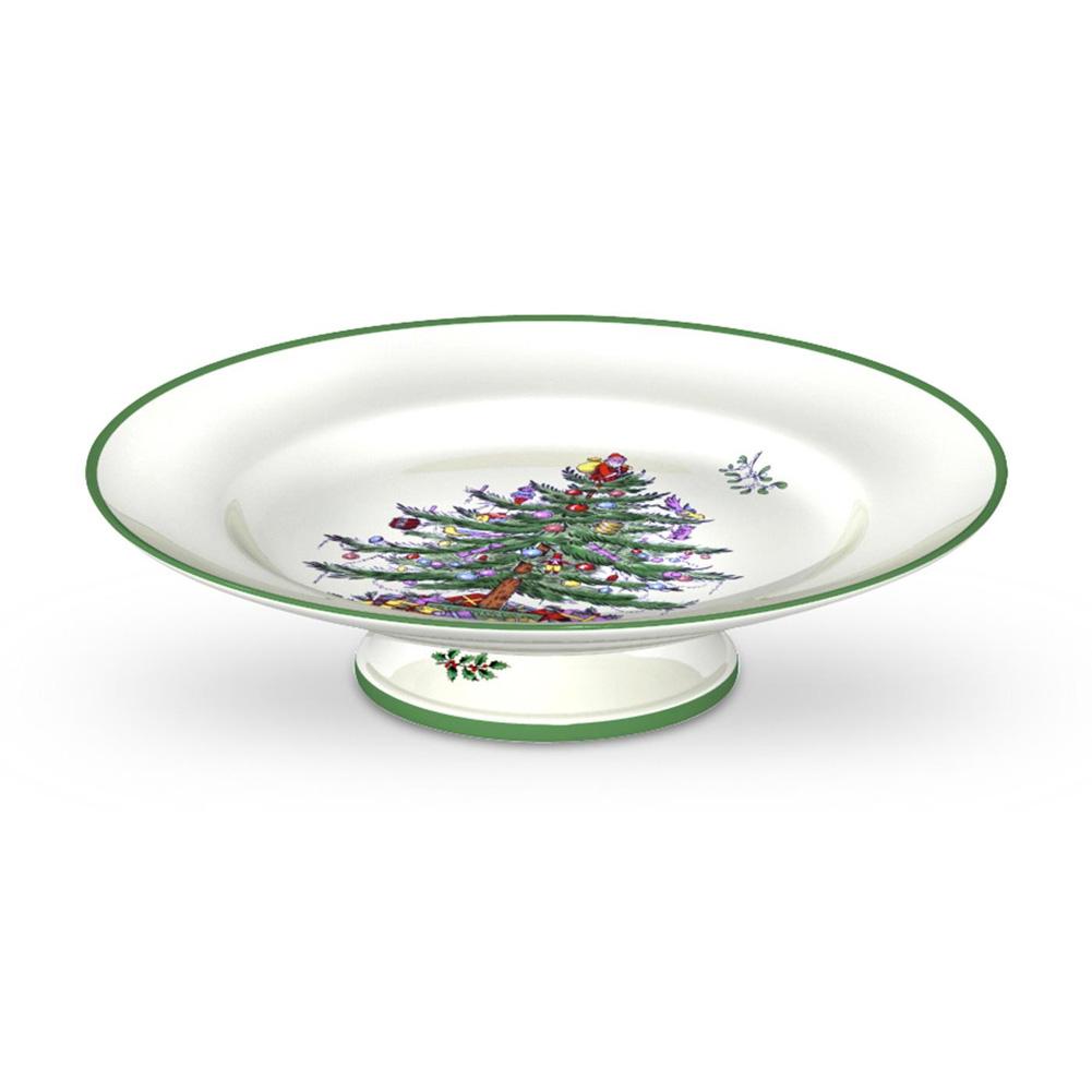 Spode Christmas Tree Cake Plate