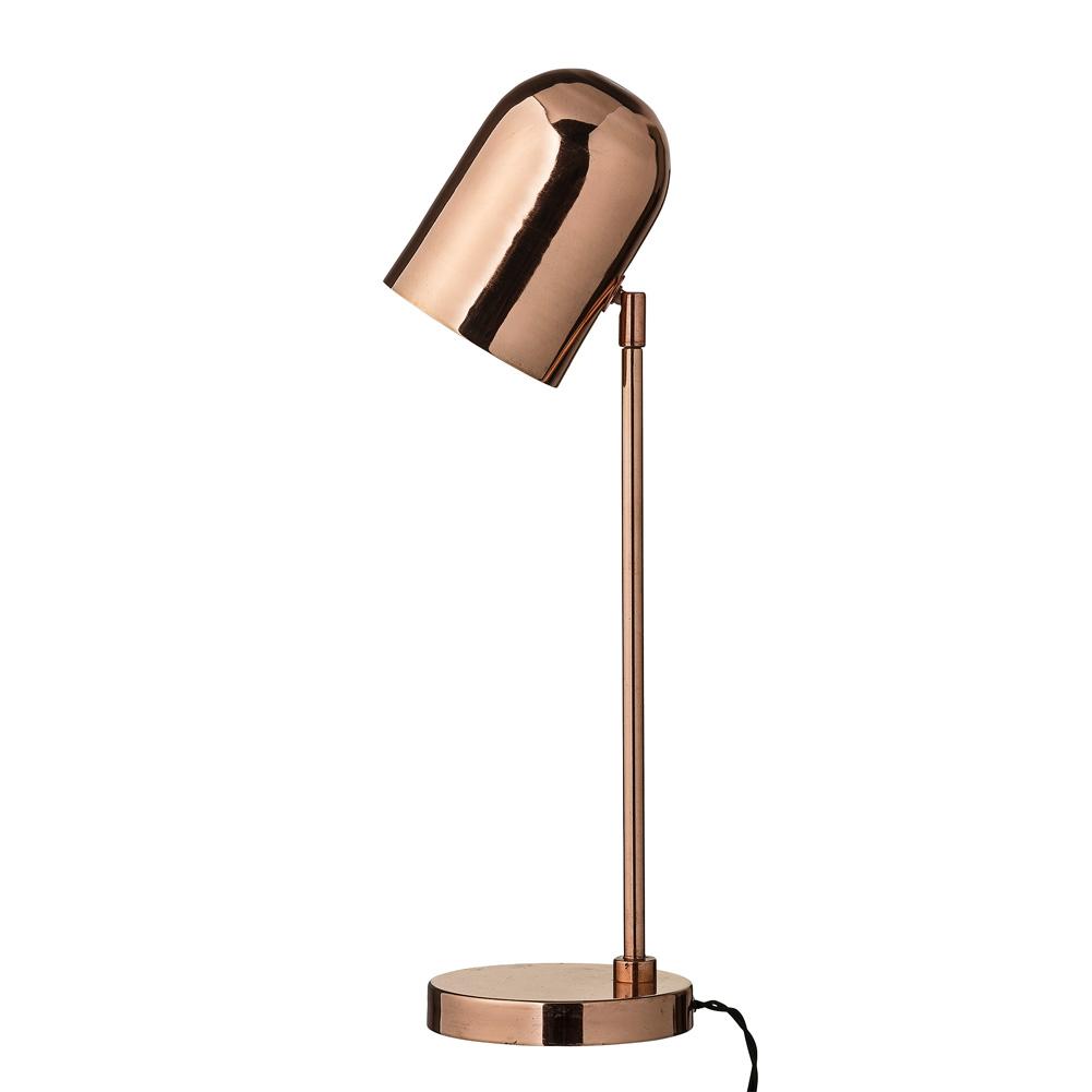 bloomingville tischlampe kupfer retro 50cm 027880 sunflower design. Black Bedroom Furniture Sets. Home Design Ideas
