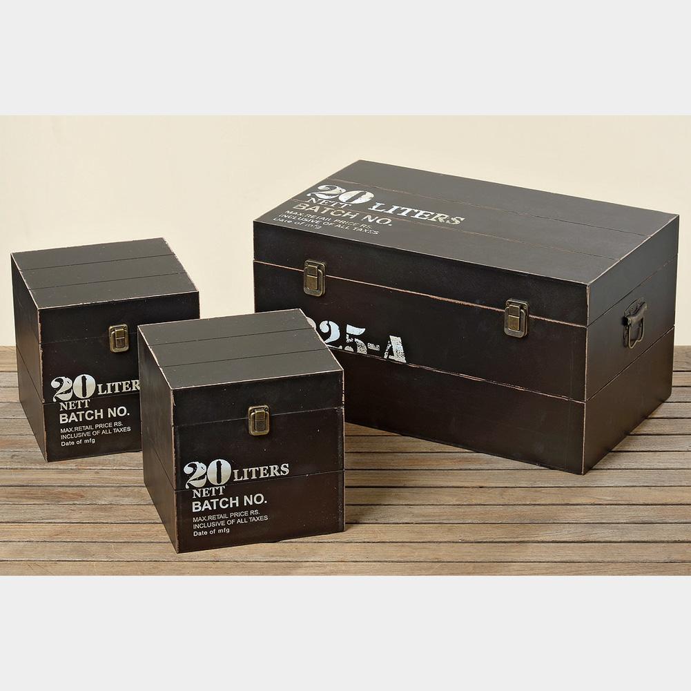 aufbewahrungsbox truhe aus holz numbers gr s 029460. Black Bedroom Furniture Sets. Home Design Ideas