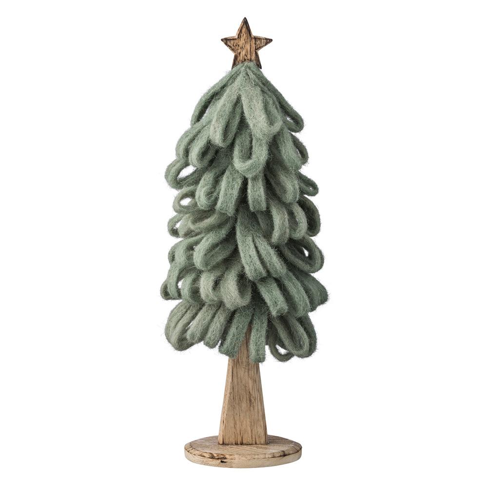 bloomingville tannenbaum aus filz 44cm 030960 sunflower design. Black Bedroom Furniture Sets. Home Design Ideas