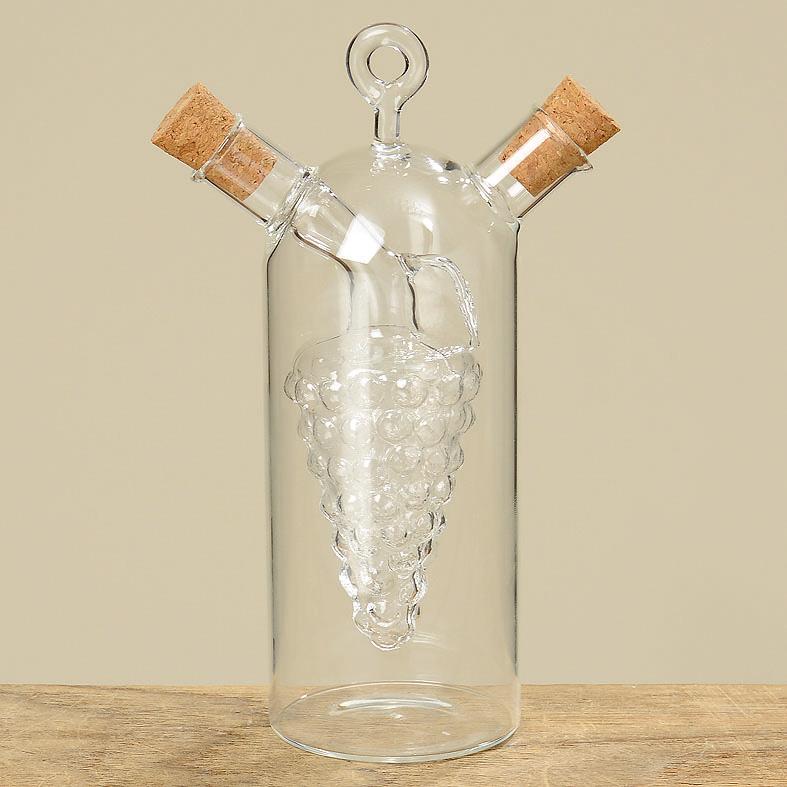 essig lspender menage glas 17cm 2 in 1 ebay. Black Bedroom Furniture Sets. Home Design Ideas