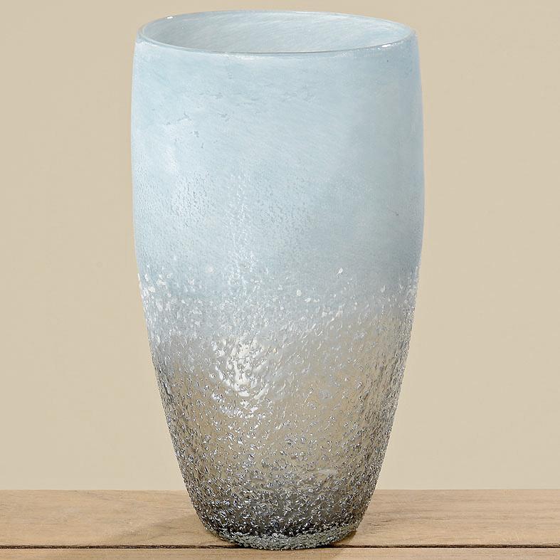 vase blumenvase glas 28cm blau 032443 sunflower design. Black Bedroom Furniture Sets. Home Design Ideas