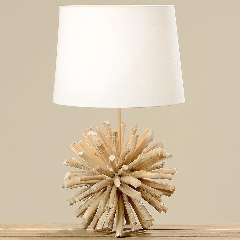 lampe tischlampe treibholz 60cm 034005 sunflower design. Black Bedroom Furniture Sets. Home Design Ideas