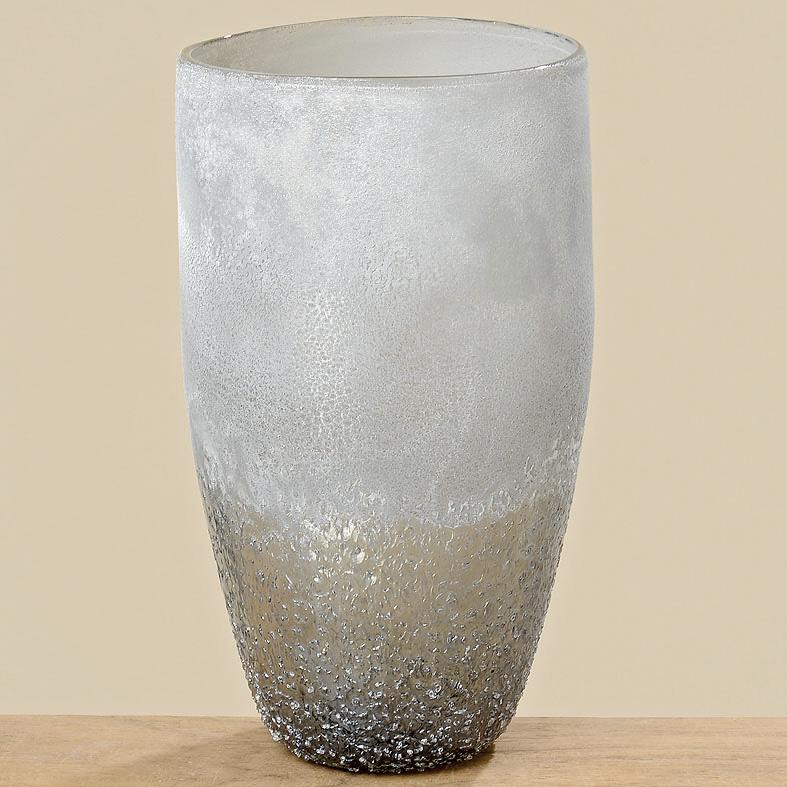 vase blumenvase glas 28cm grau 034327 sunflower design. Black Bedroom Furniture Sets. Home Design Ideas