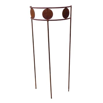 staudenst tze staudenhalter rankhilfe metall rost 100cm 034957. Black Bedroom Furniture Sets. Home Design Ideas