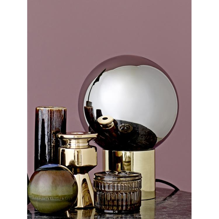bloomingville lampe tischlampe gold 25cm 033189 sunflower design. Black Bedroom Furniture Sets. Home Design Ideas