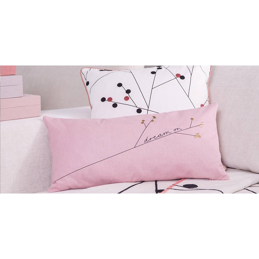 r der zuhause kissen mit abstraktem motiv 50 x 50cm 033899. Black Bedroom Furniture Sets. Home Design Ideas